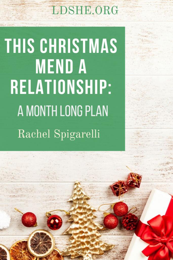 mend a quarrel this christmas